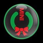 ゴーバッジ(ドーム)(CD0390 - Seasonal MINI POWER WREATH) - 画像1