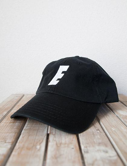 【EMMURE】Sport Logo Dad Hat (Black)