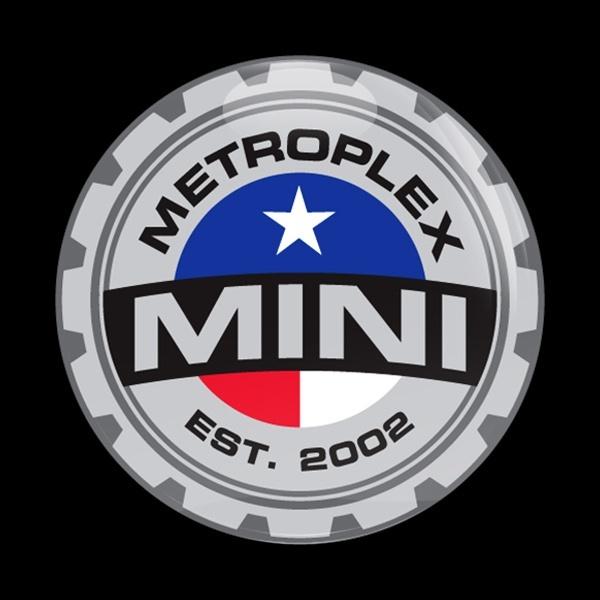 ゴーバッジ(ドーム)(CD0090 - CLUB MINI METROPLEX) - 画像1