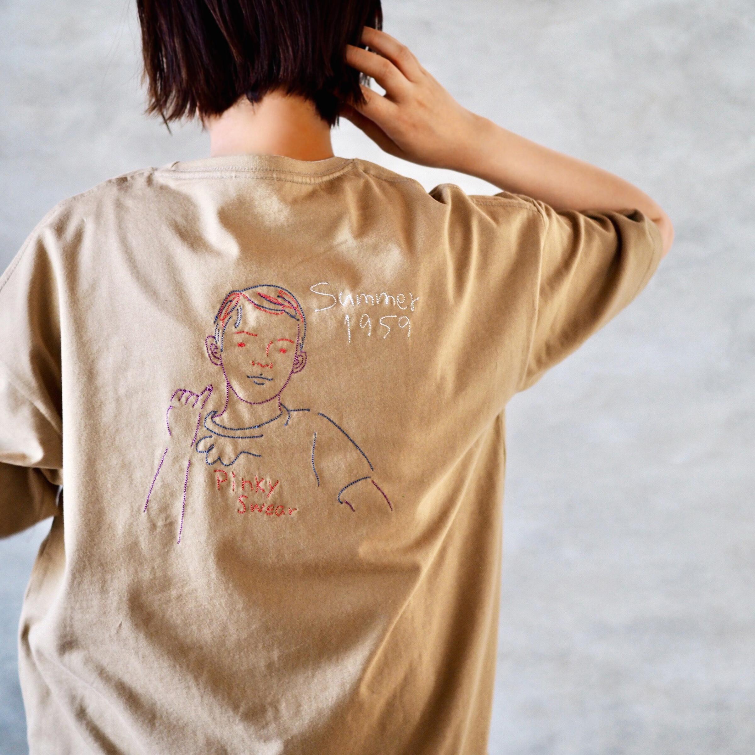 <ワイド/Stitch>Pinky Tee(Tシャツ)
