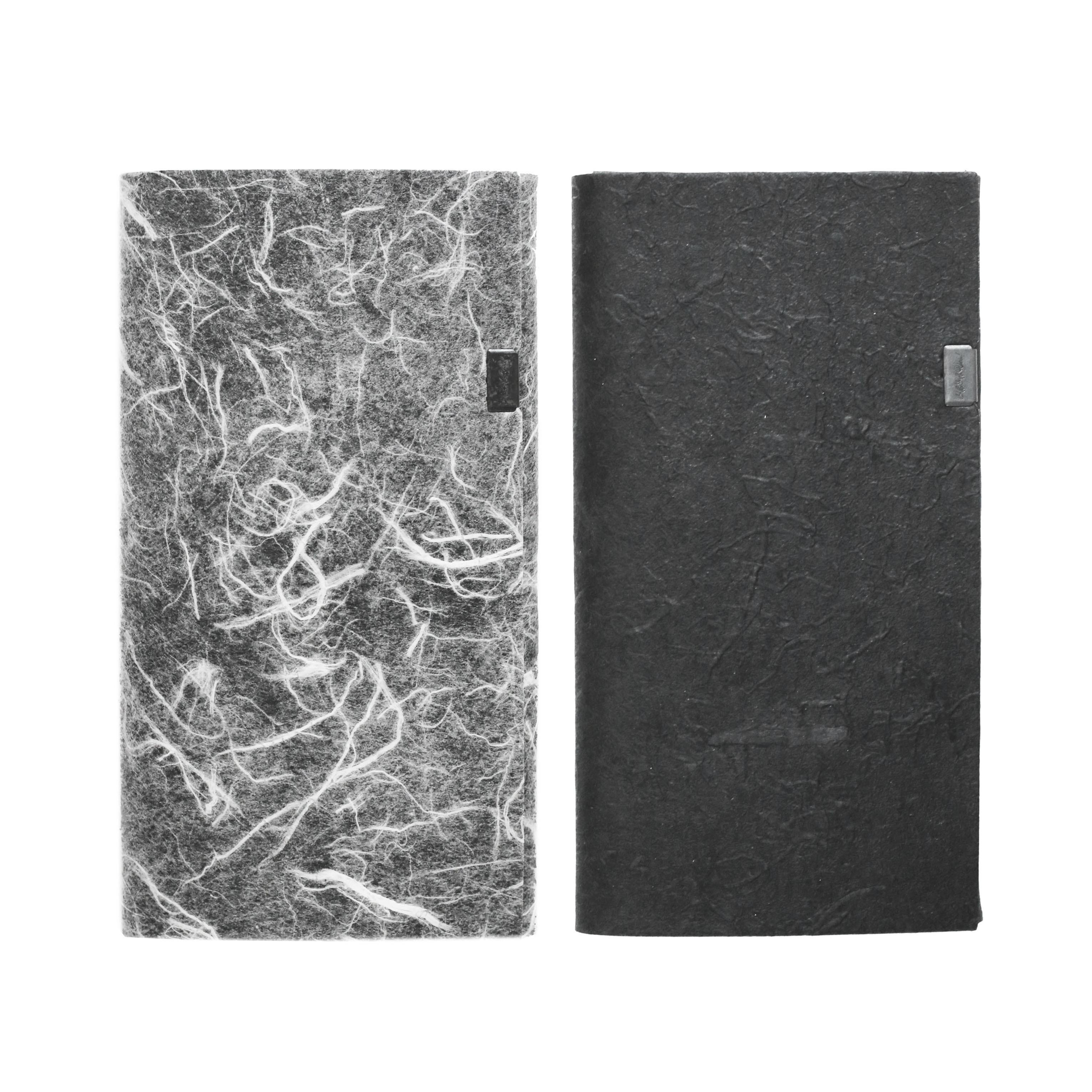 黒和紙/白和紙 -ロングウォレット-