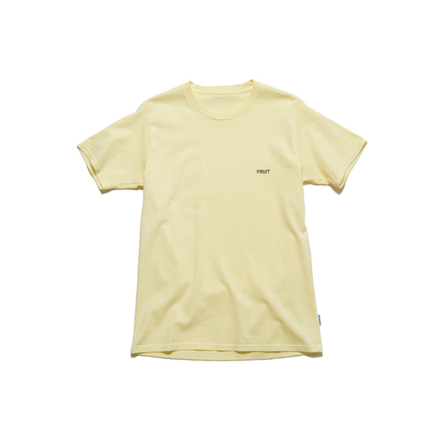 "SPICE COLOR TEE ""FRUIT"" - YELLOW"