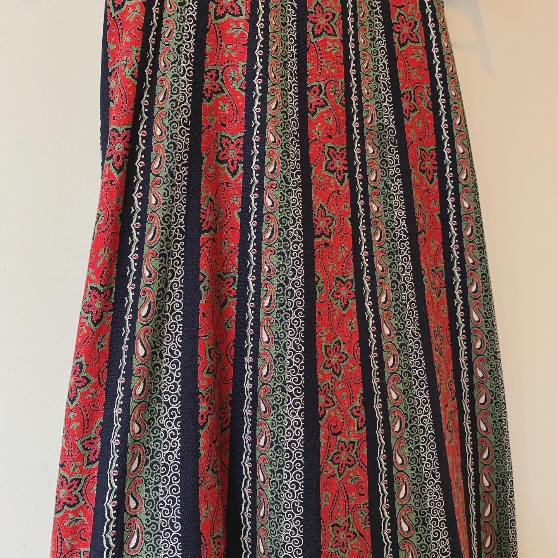 vintage design cotton skirt