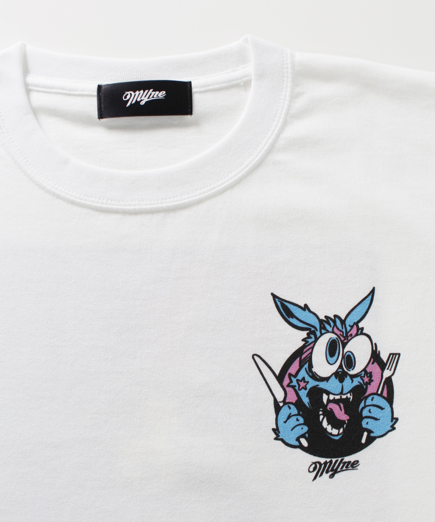 MYne CODEX 別注T-shirt / WHITE - 画像2