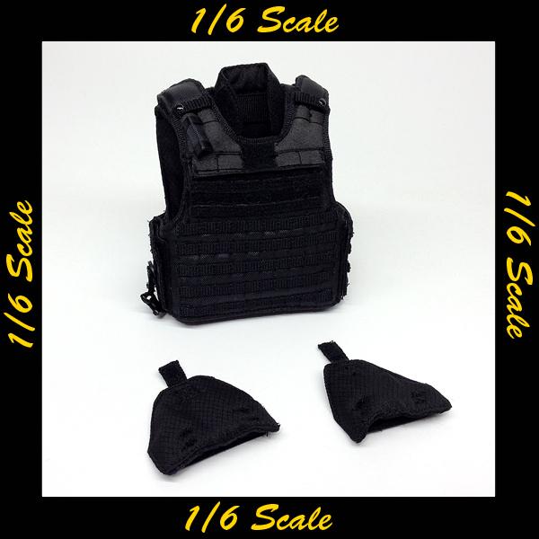 【01308】 1/6 DID LAPD SWAT ベスト&ショルダーアーマー