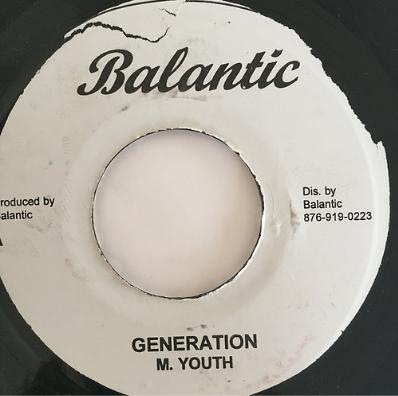 M.Youth(ミュージカルユース) - Generation【7'】