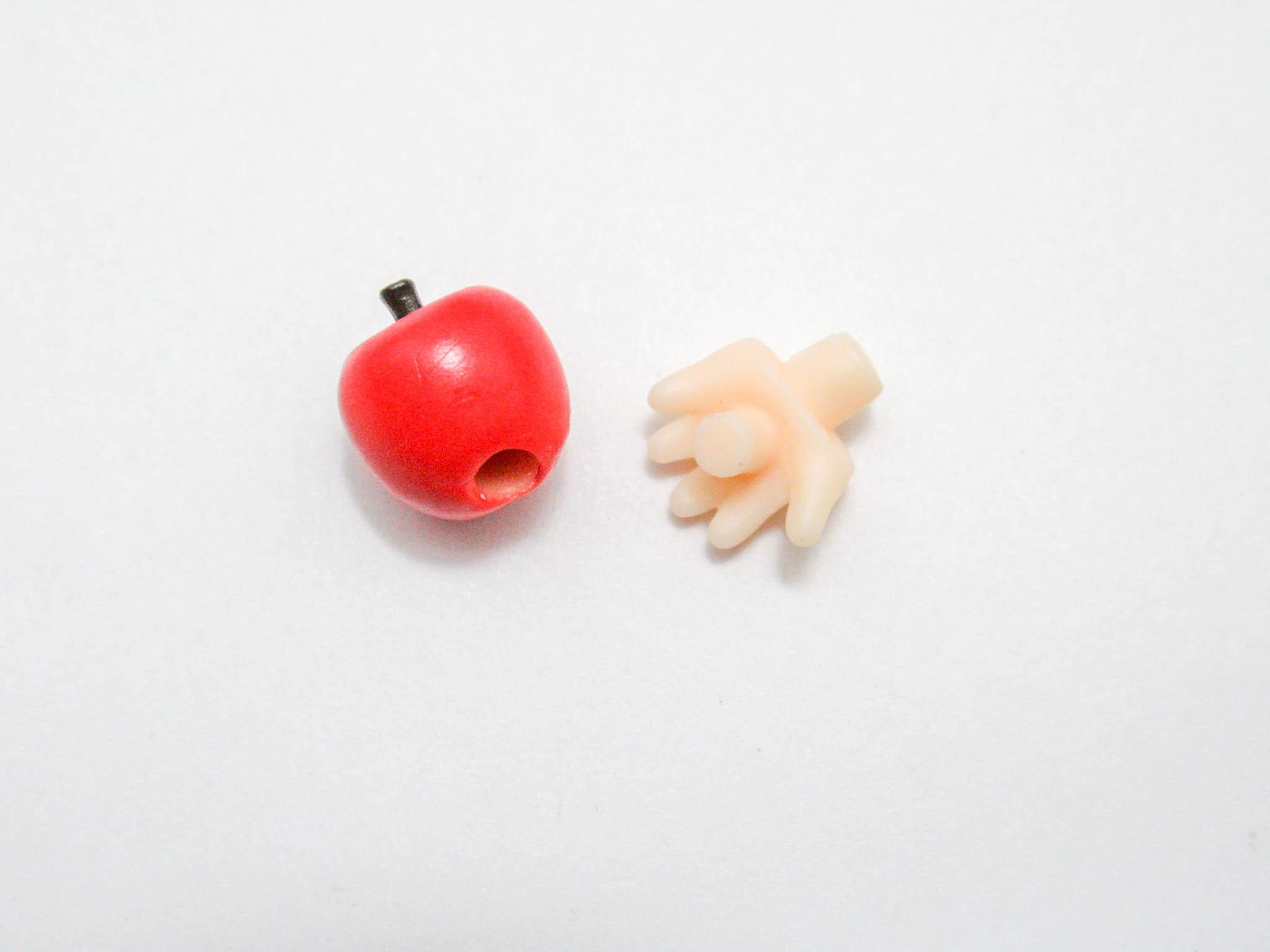 再入荷【1160】 夜神月 2.0 小物パーツ リンゴ ねんどろいど