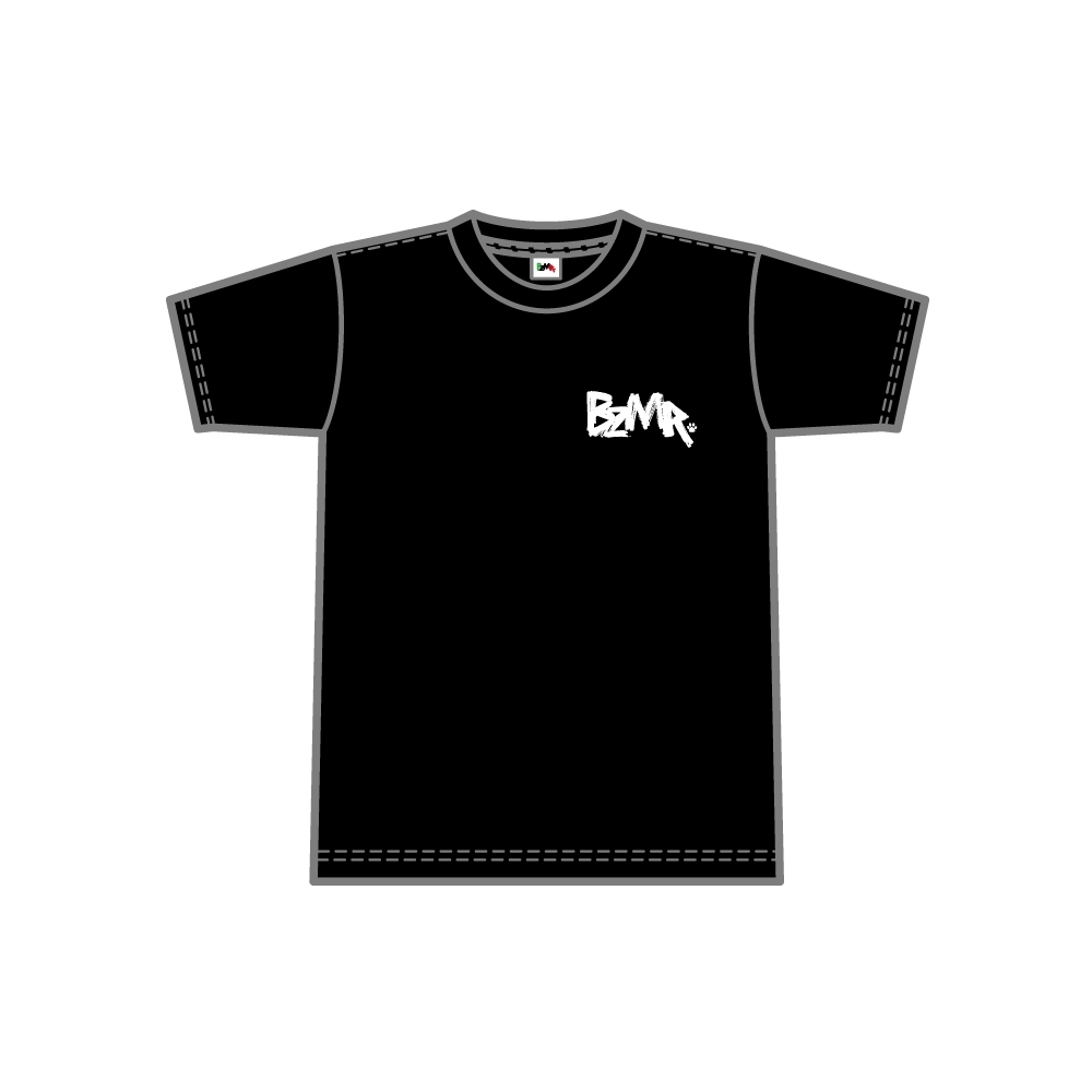 BZMR [One point mono tee] Black. - 画像1