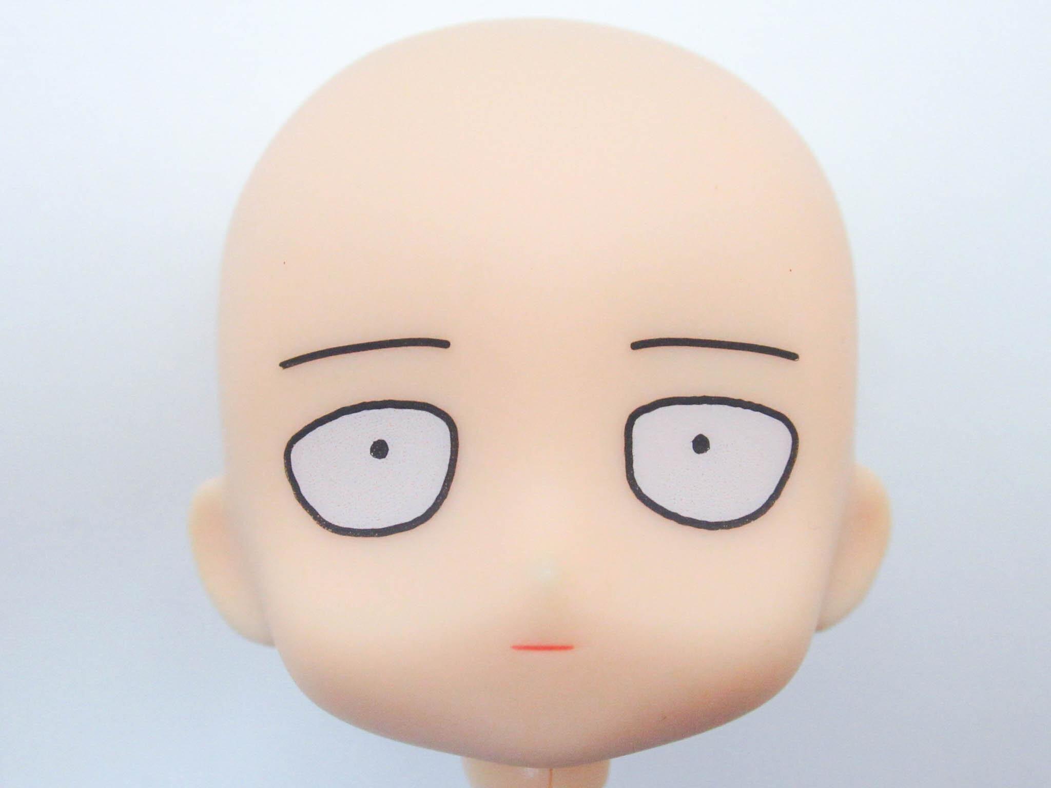 【1081】 サイタマ OPPAI パーカーVer. 髪、顔パーツ 普通 ねんどろいど