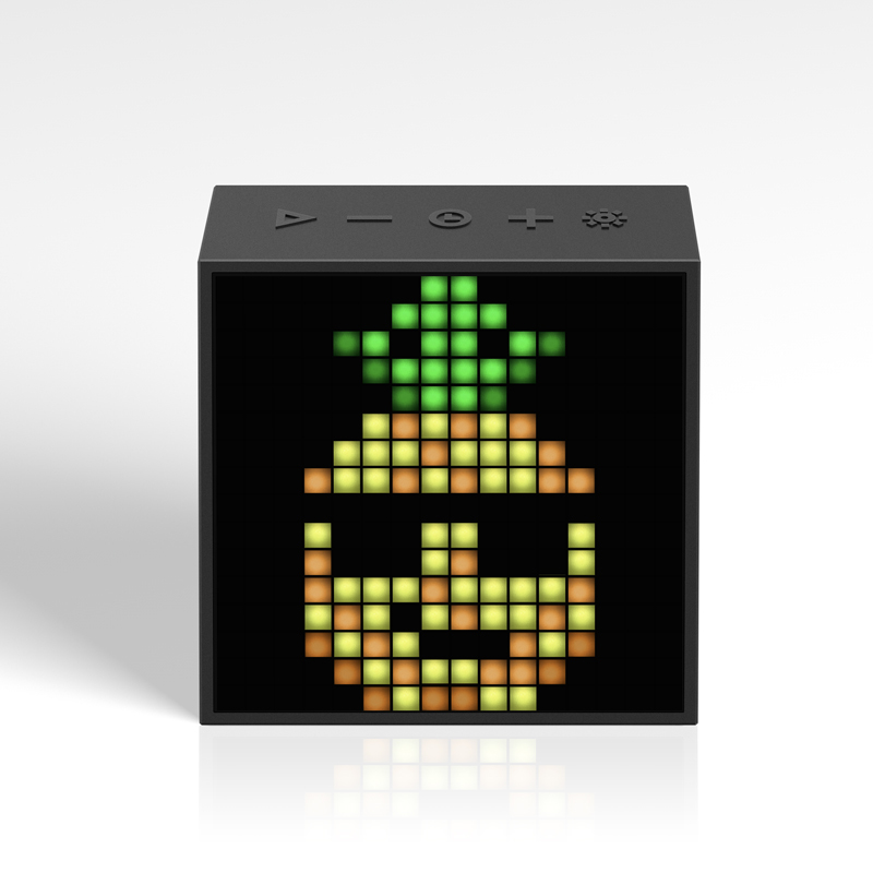 【受注販売商品】TIMEBOX EVO (BLACK・RED)【Bluetoothスピーカー】/ DIVOOM