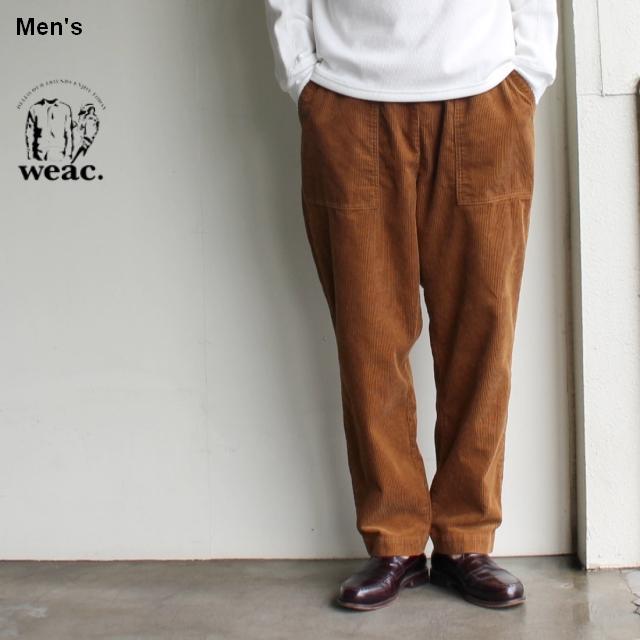 weac. イージーファティーグパンツ  RELAX CORDUROY PANTS (CAMEL)