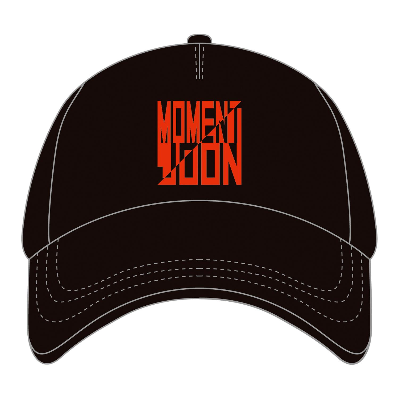 """MOMENT JOON """"Passport & Garcon"""" 5PANEL CAP [RED]"""