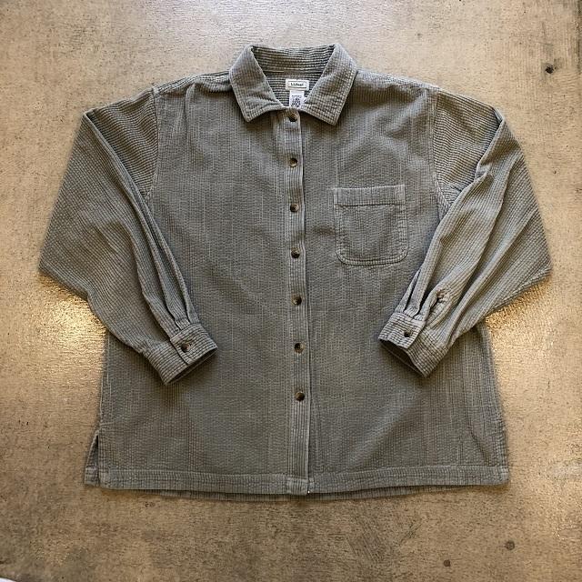 LLbean Corduroy Shirt #06