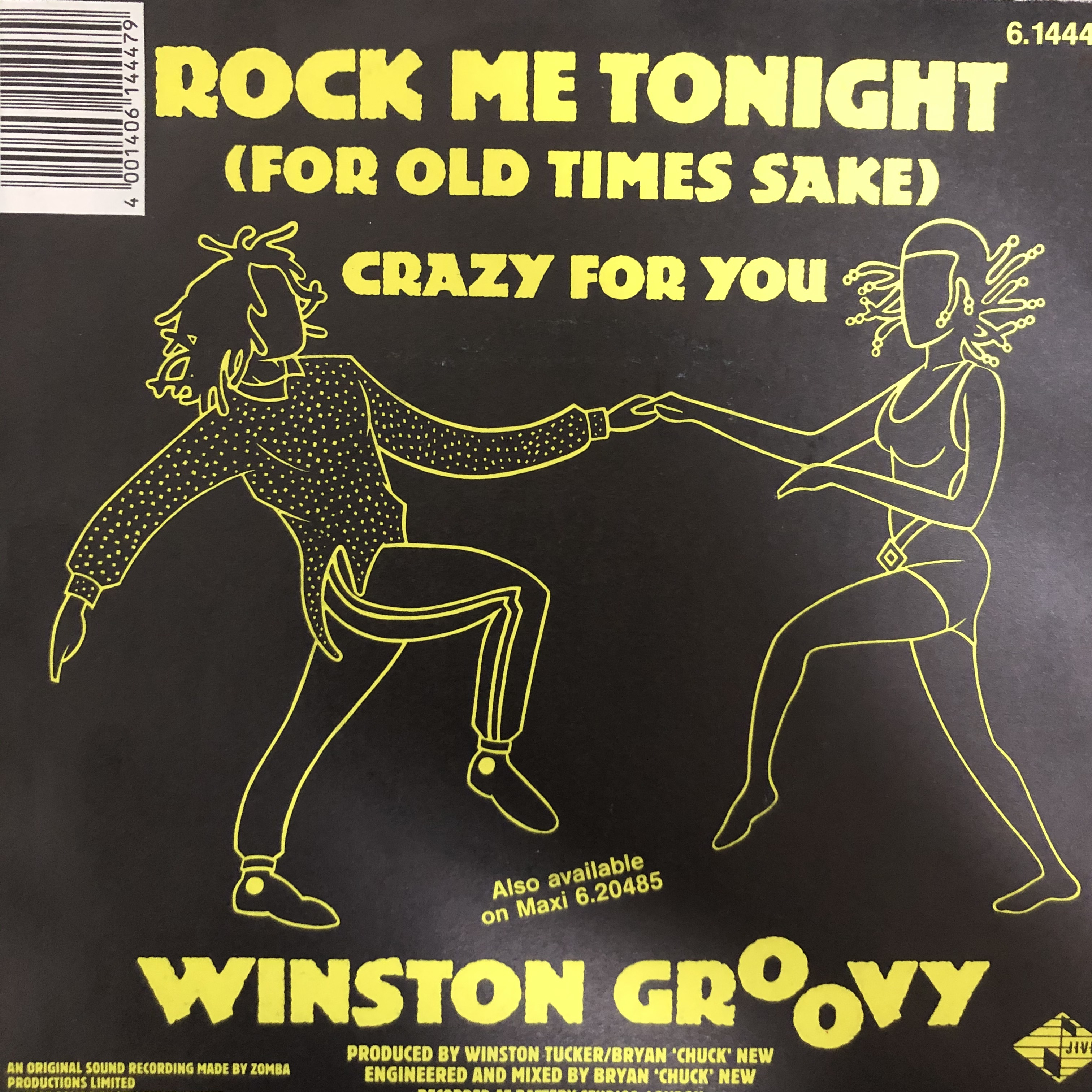 Winston Groovy - Rock Me Tonight【7-20497】