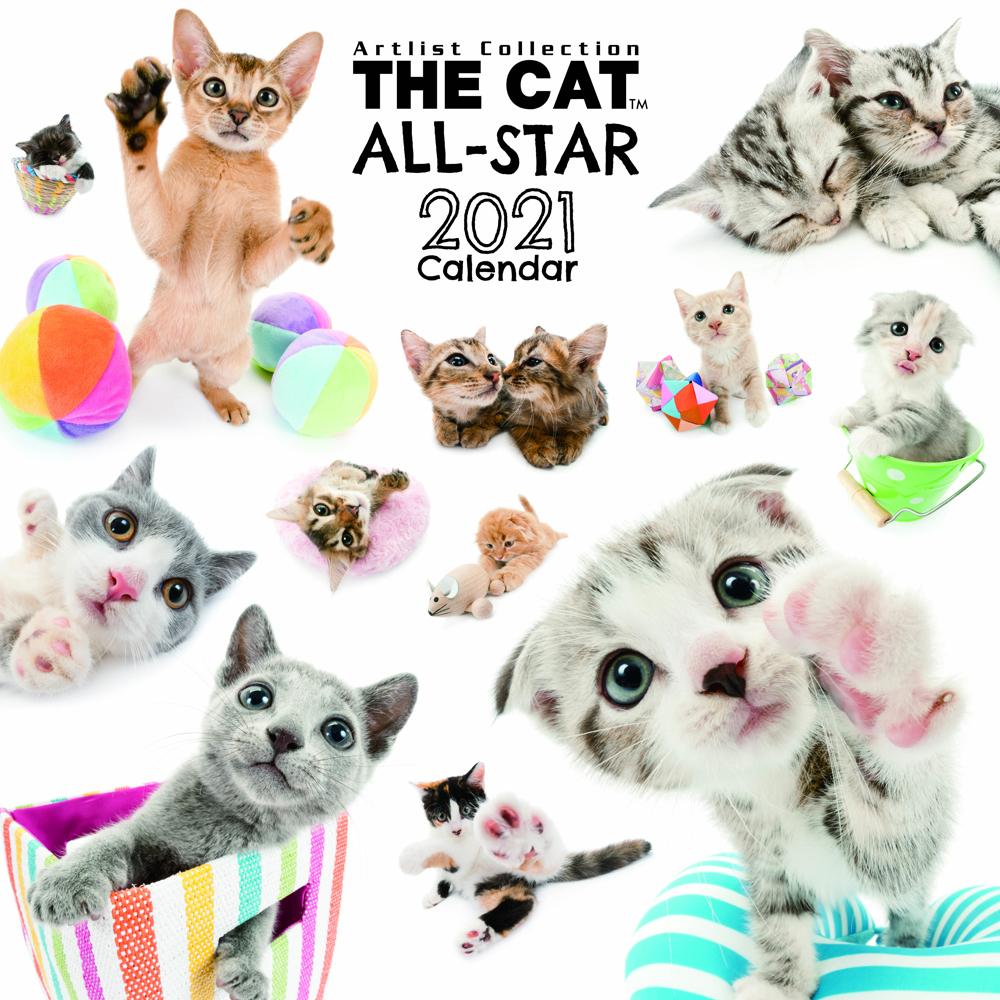 2021年 THE DOG/THE CATオールスターカレンダー【大判サイズ】THE CAT ALL-STAR