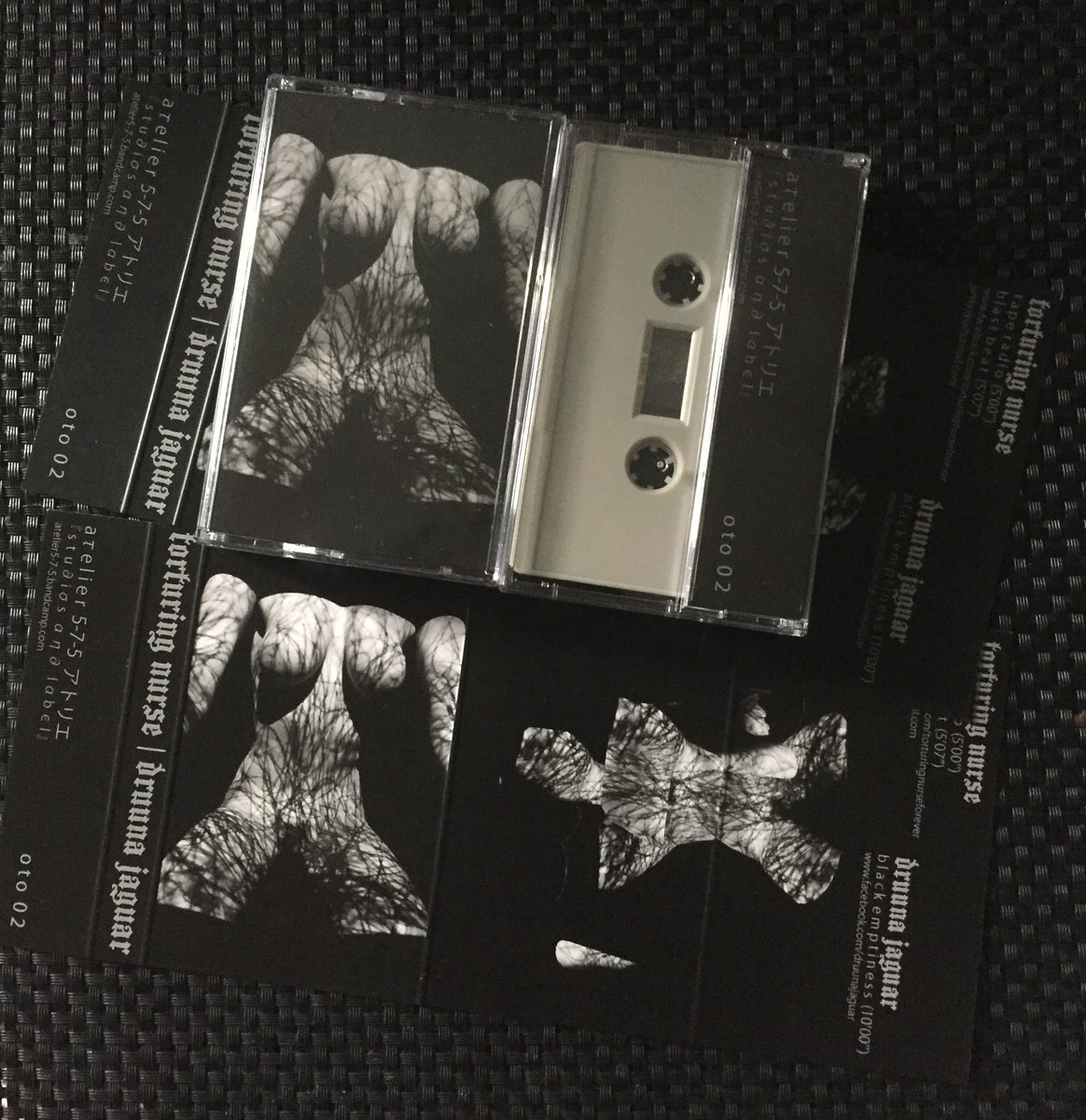 Torturing Nurse | Druuna Jaguar - limited edition split cassette - 画像2