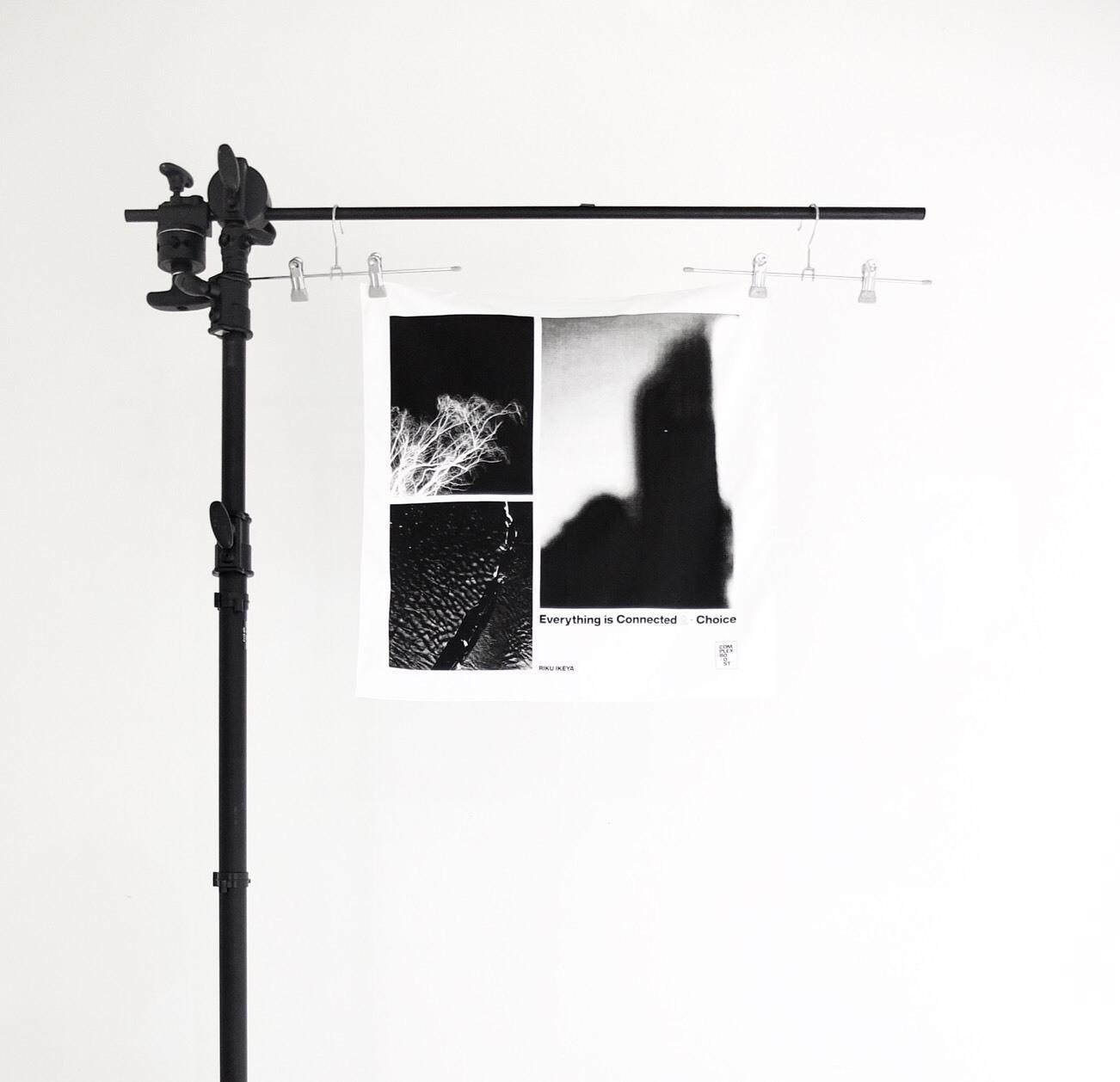 RIKU IKEYA × COMPLEX BOOST LIMITED PHOTO BANDANA【受注生産】