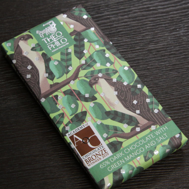 フィリピン THEO &PHILO チョコレート  グリーンマンゴー&ソルト&65%ダーク