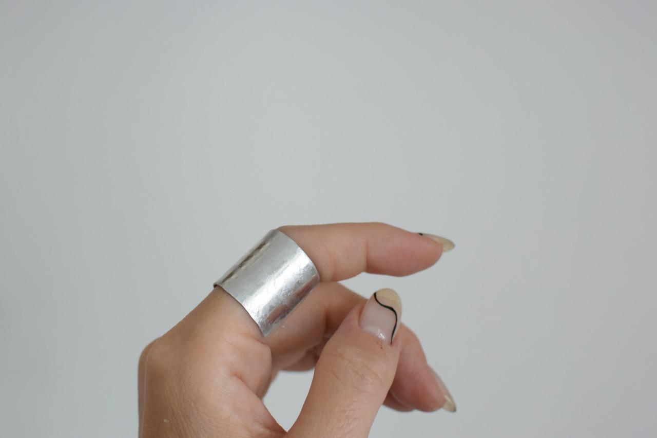 毎日つけたいアルミのリング