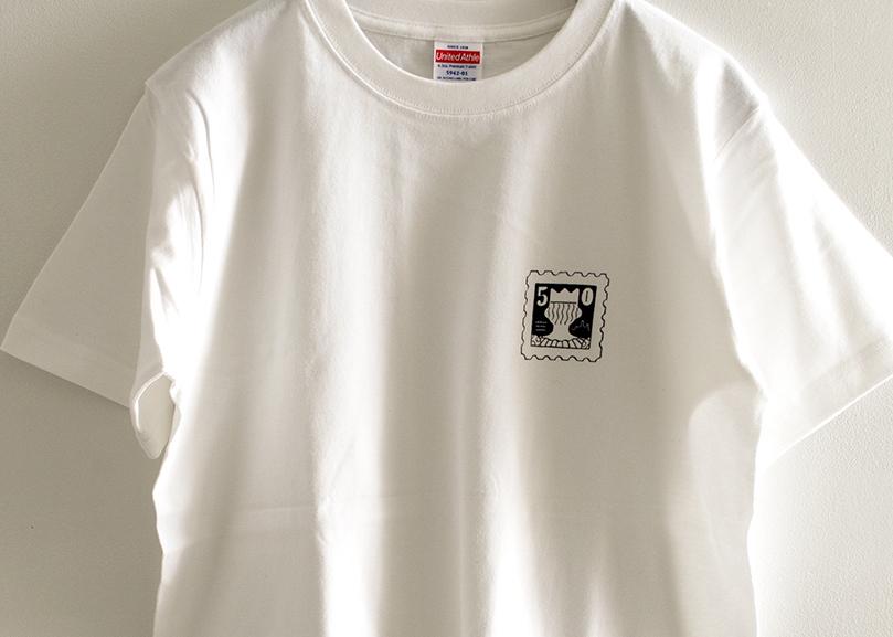 Tシャツ(切手)/fancomi「So Re Wa Mata Betsu No Hanashi.」