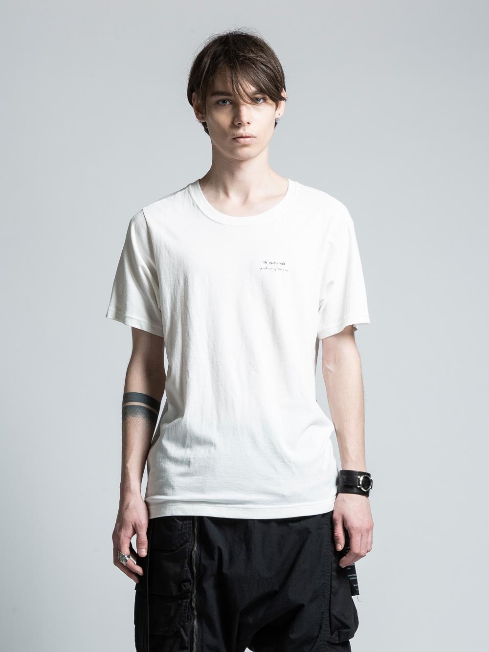 VI-PM-006-01 / PATRICIA MARCH コラボレーションバックプリントTシャツ