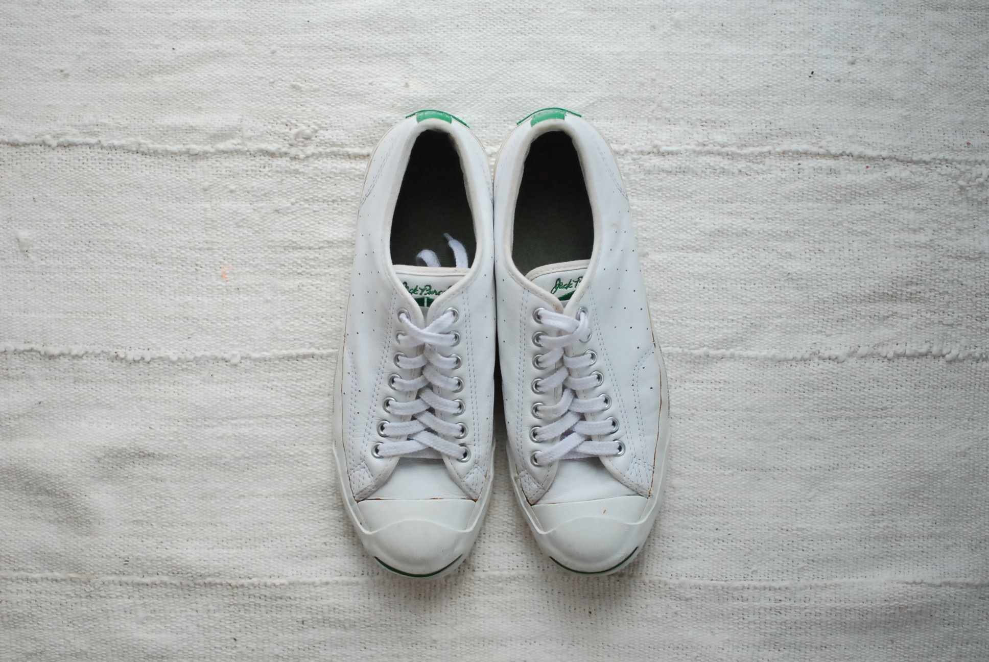 【USED】CONVERSE JACK PURCELL PUNCHING LEATHER