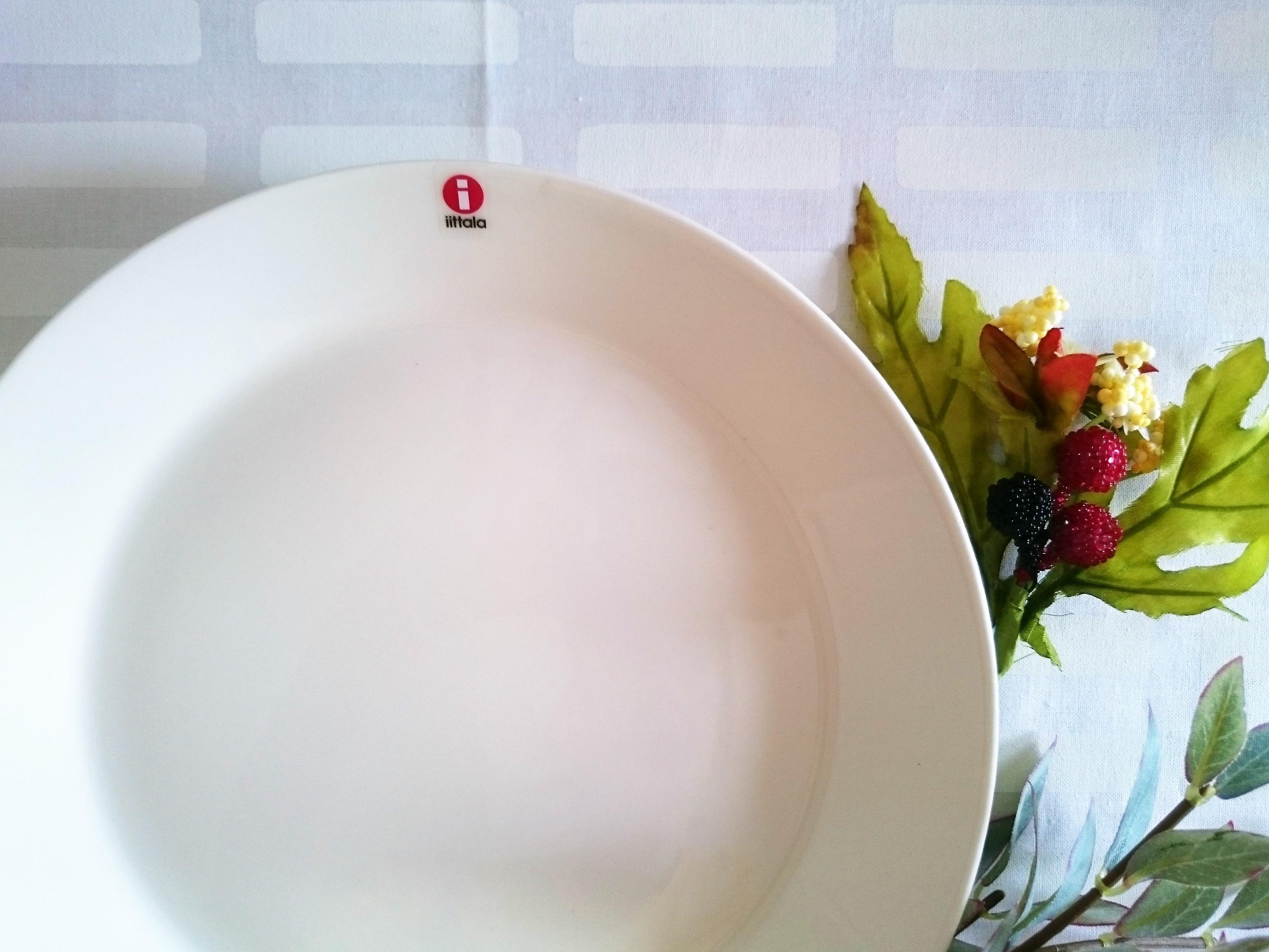 プレート / イッタラ / TEEMA ティーマ ホワイト (21cm)