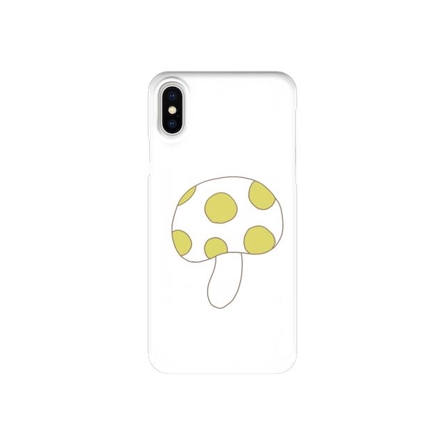 きのこさん、いろいろ (iPhone case)