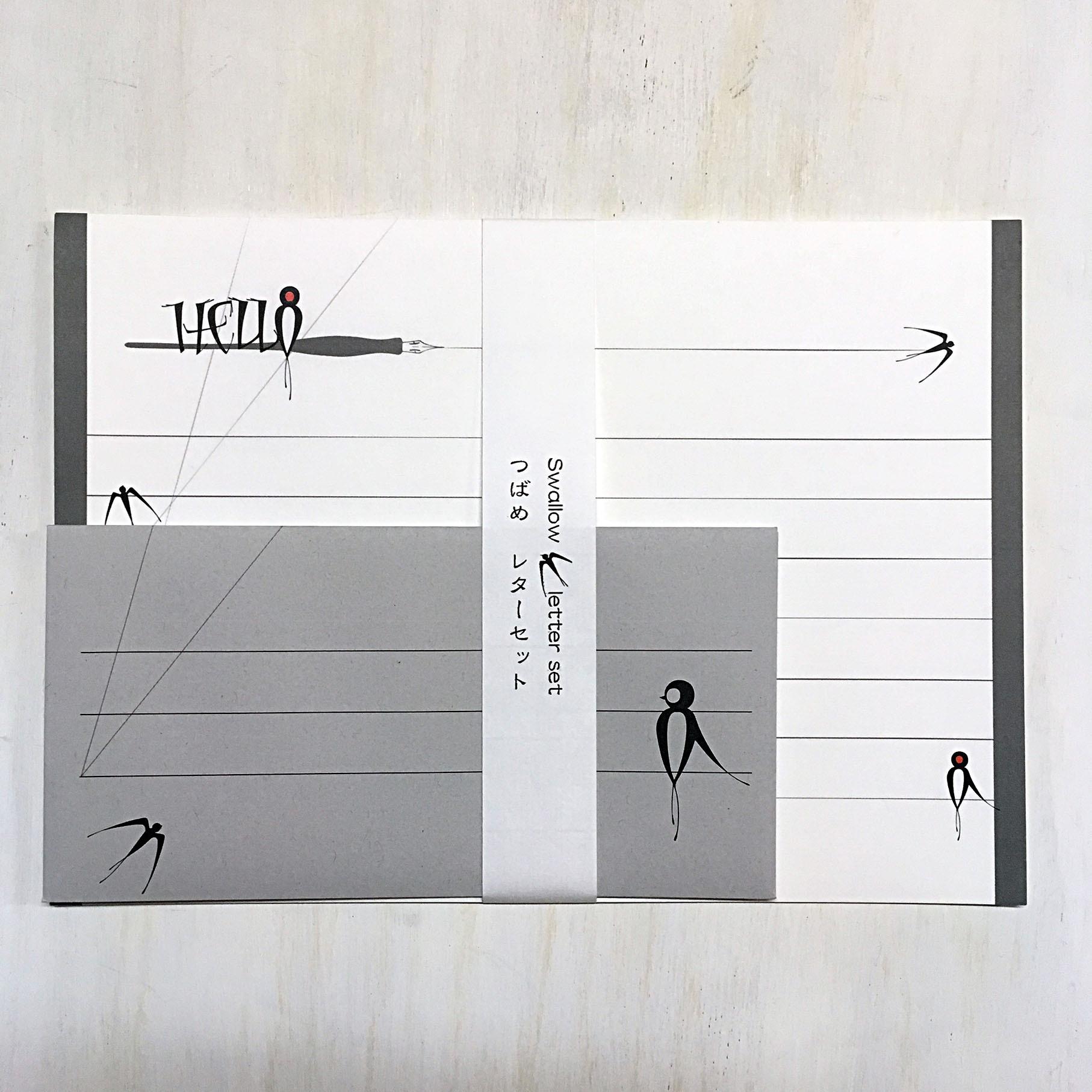 Swallow letterset(つばめ・レターセット)