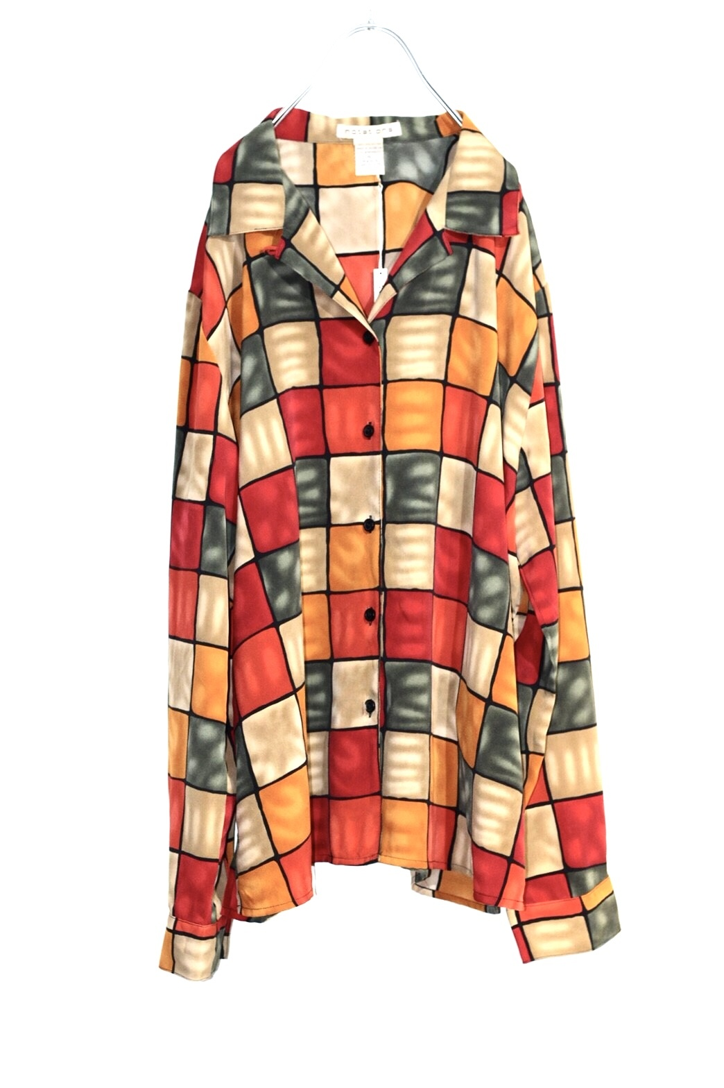 block pattern shirt