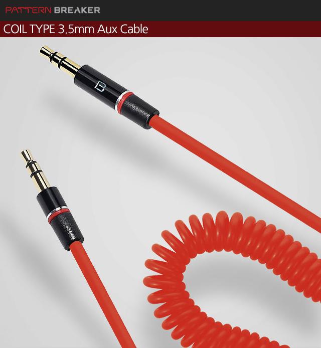 3.5-3.5コイルケーブル (BLACKのみ)   :: PATTERN BREAKER
