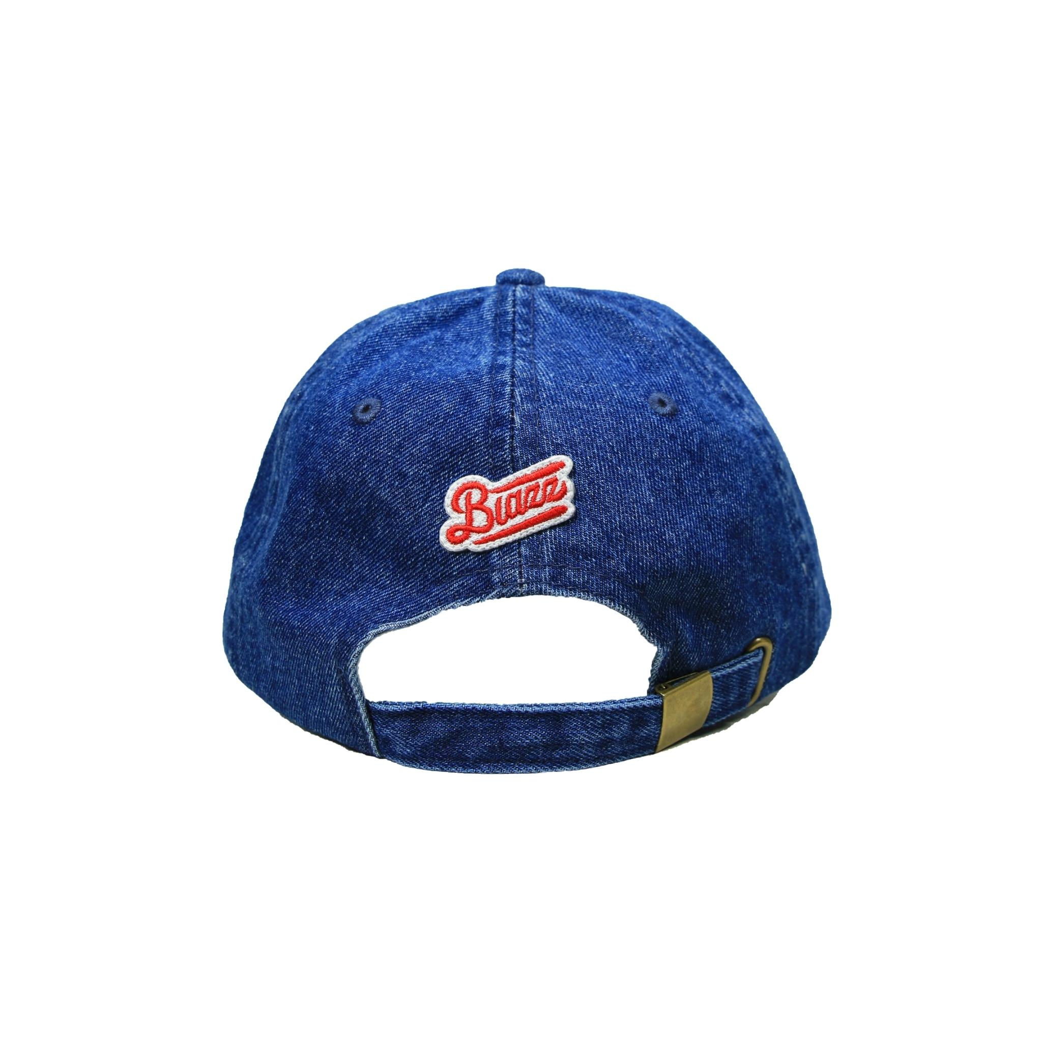 MINI LOGO DENIM WASH CAP [DARK BLUE]