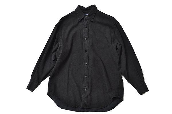 Ralph lauren size9 big shirt black