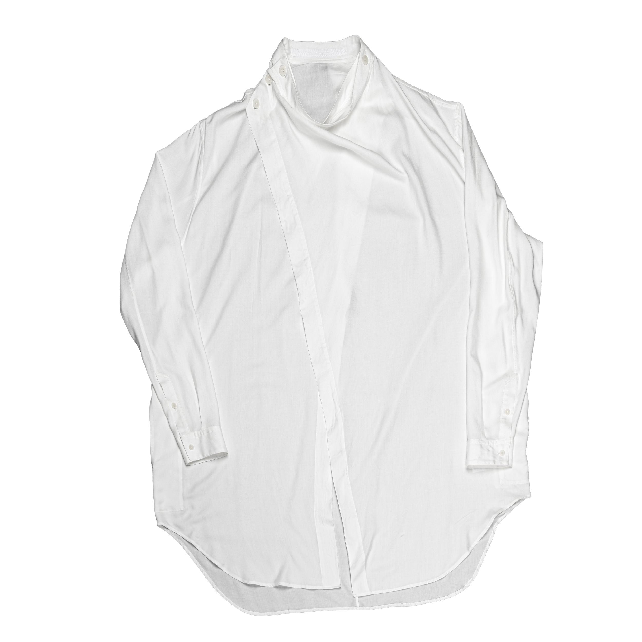 667SHM2-WHITE / カバードシャツ