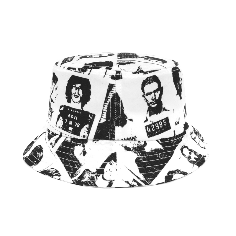 WASTED PARIS Violence Bucket Hat  WHITE