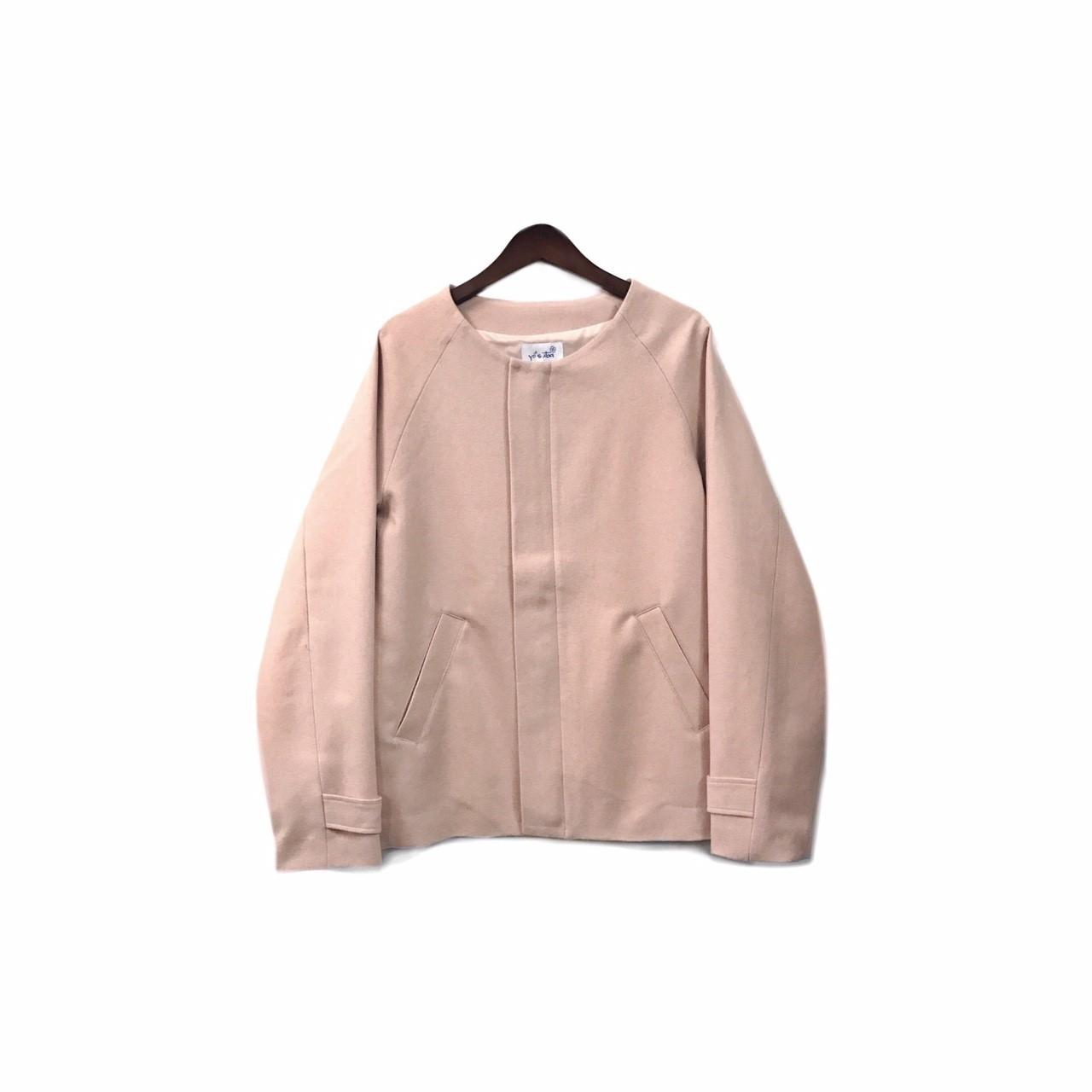 yotsuba - Nocollar Jacket / Pink ¥35000+tax