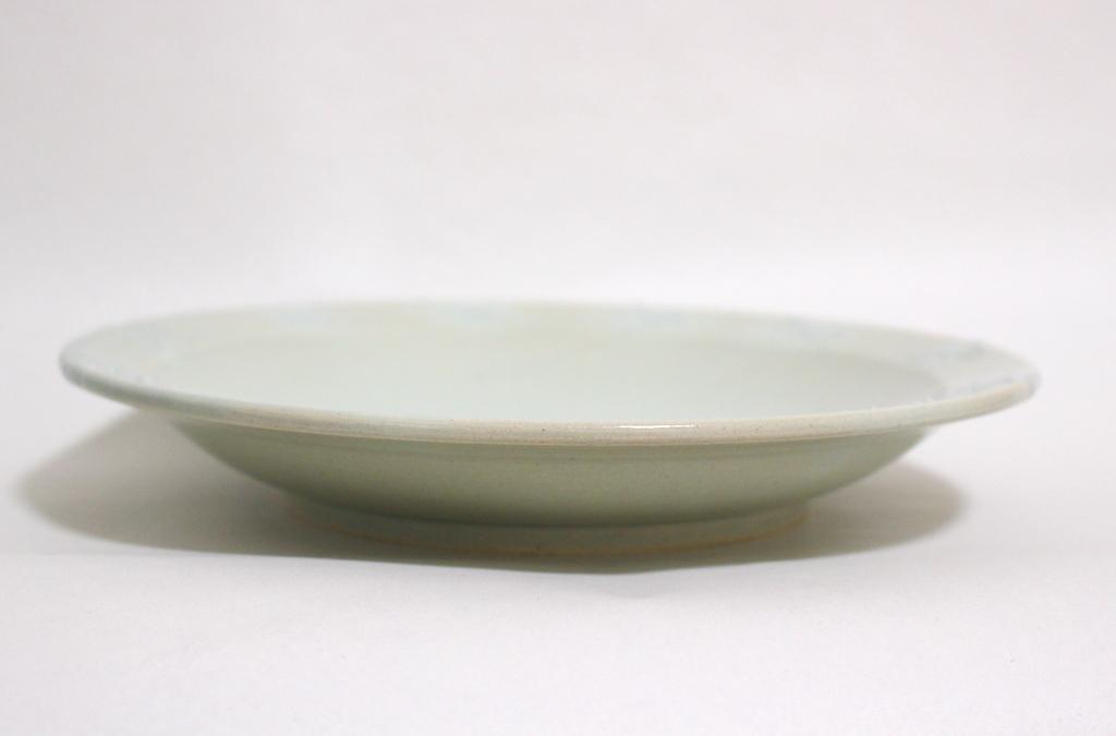 リム付き大皿【イッチン星柄/水色】