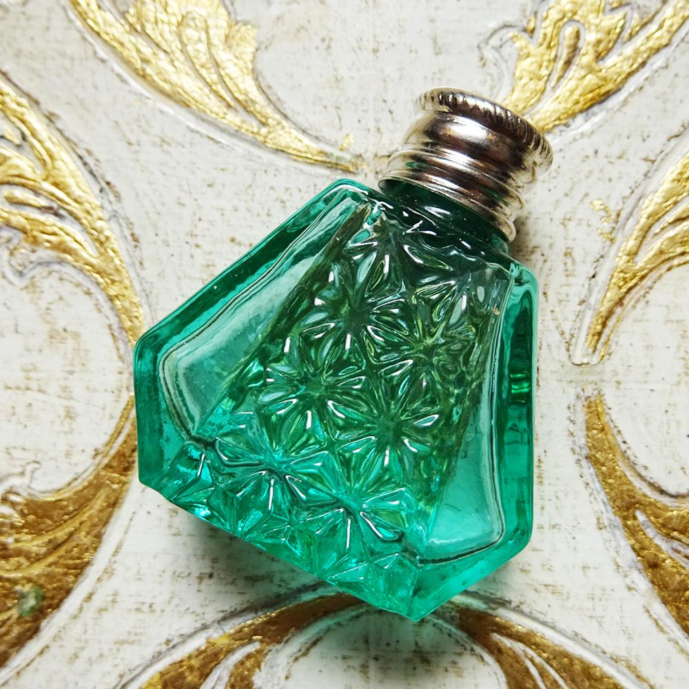 チェコスロバキア ウランガラスのパフュームボトル