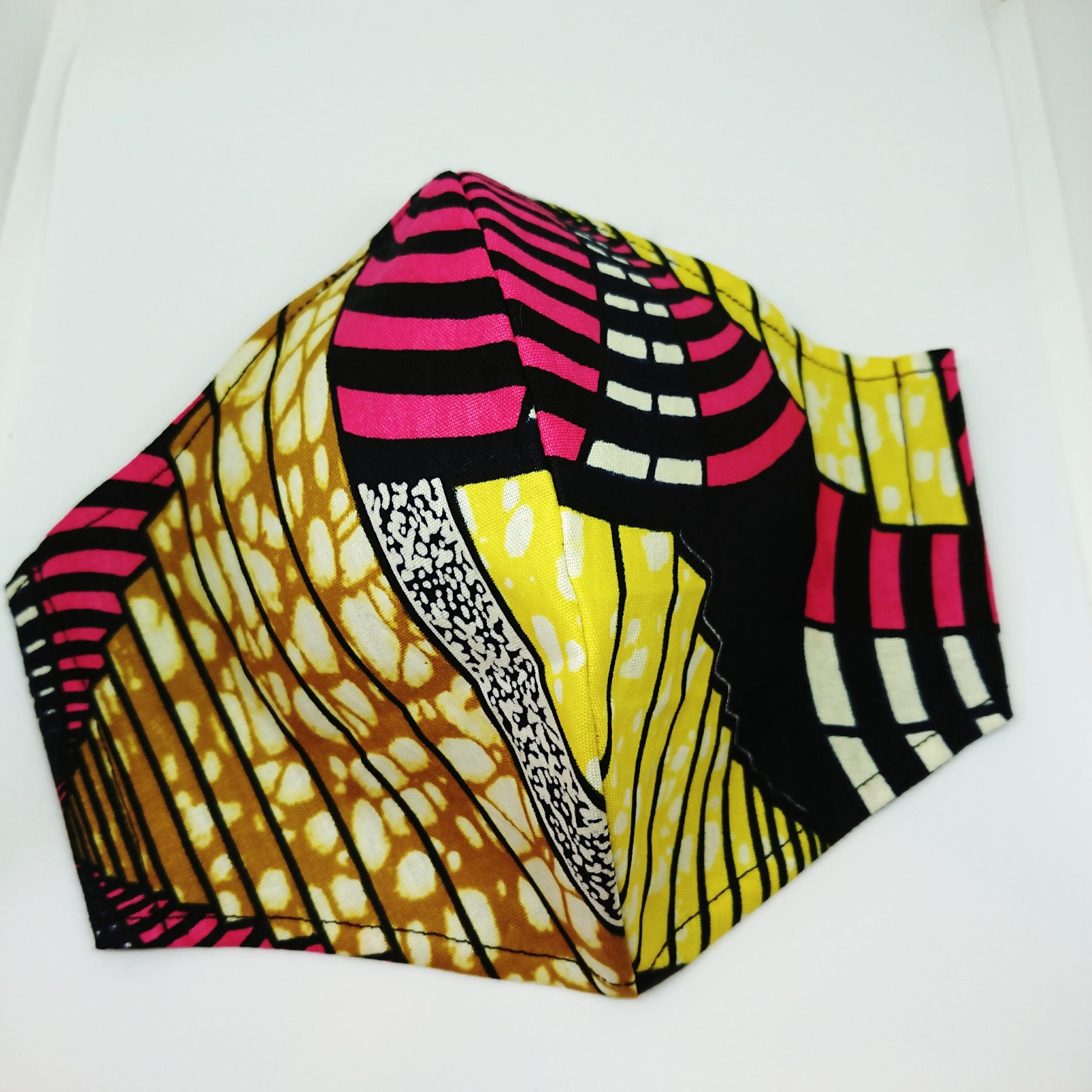 夏用 接触冷感 パーニュの立体マスク【Lサイズ】8