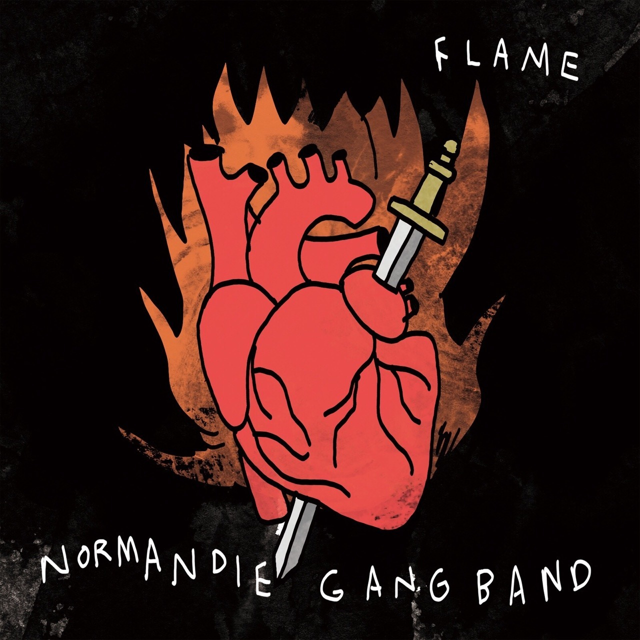 [CD] NORMANDIE GANG BAND / FLAME