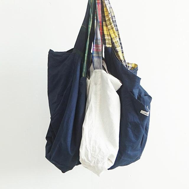 【再入荷なし】 ICHIAntiquites イチアンティークス LINEN TARTAN CHECK BAG リネンタータンチェックバッグ (品番500316)