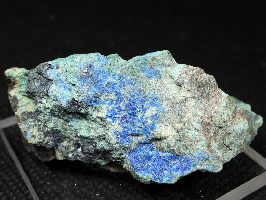 リナライト & カレドナイト 青鉛鉱 カレドニア石 37,4g LN026 鉱物 原石 天然石 パワーストーン
