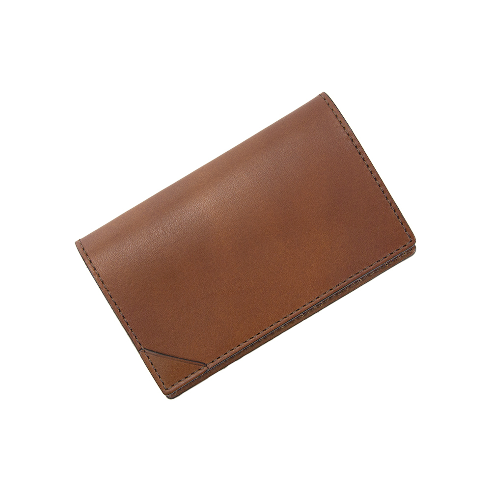 FLAT CARD CASE CAMEL