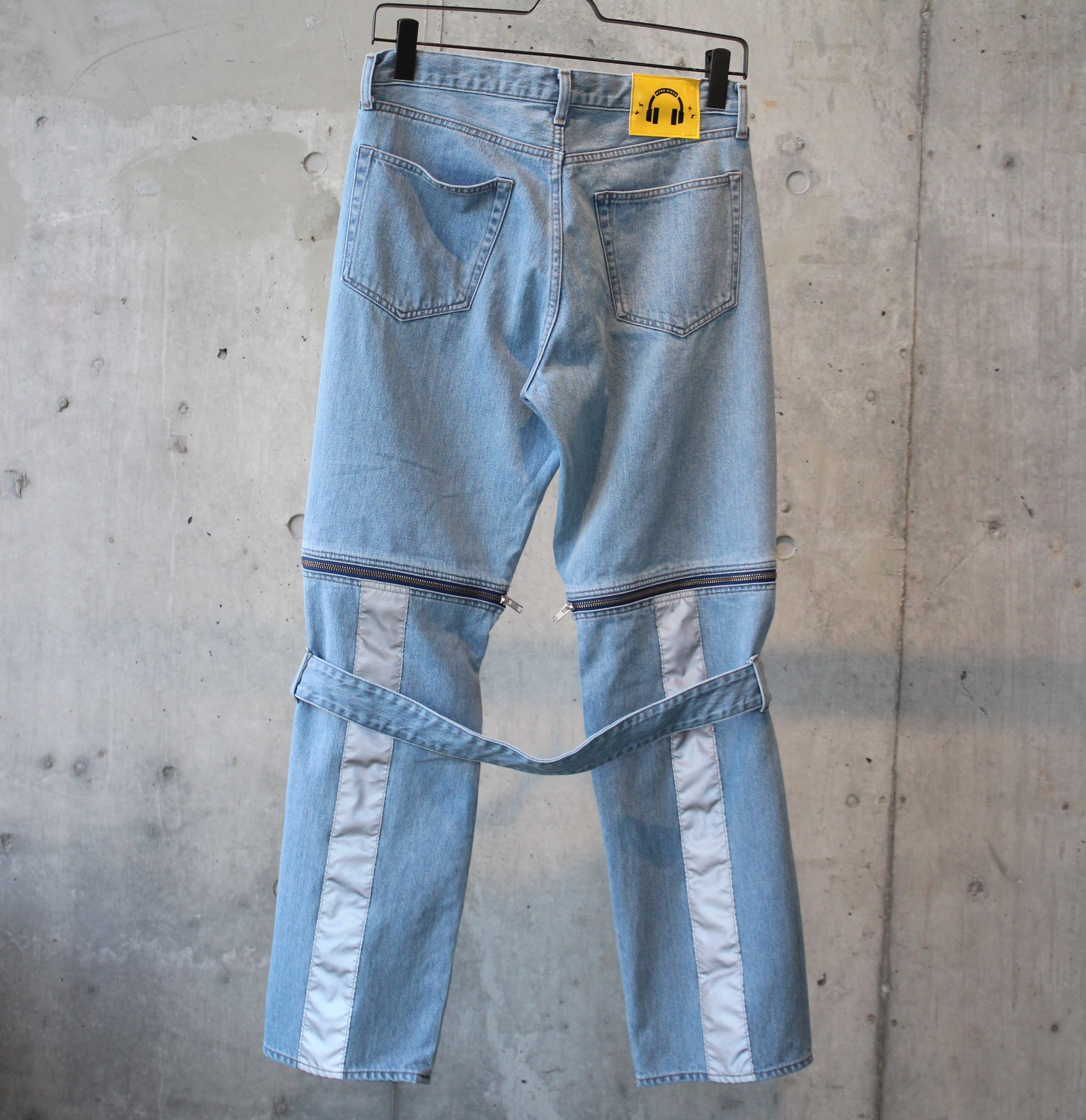 DENIM BONTAGE PANTS / INDIGO - 画像2