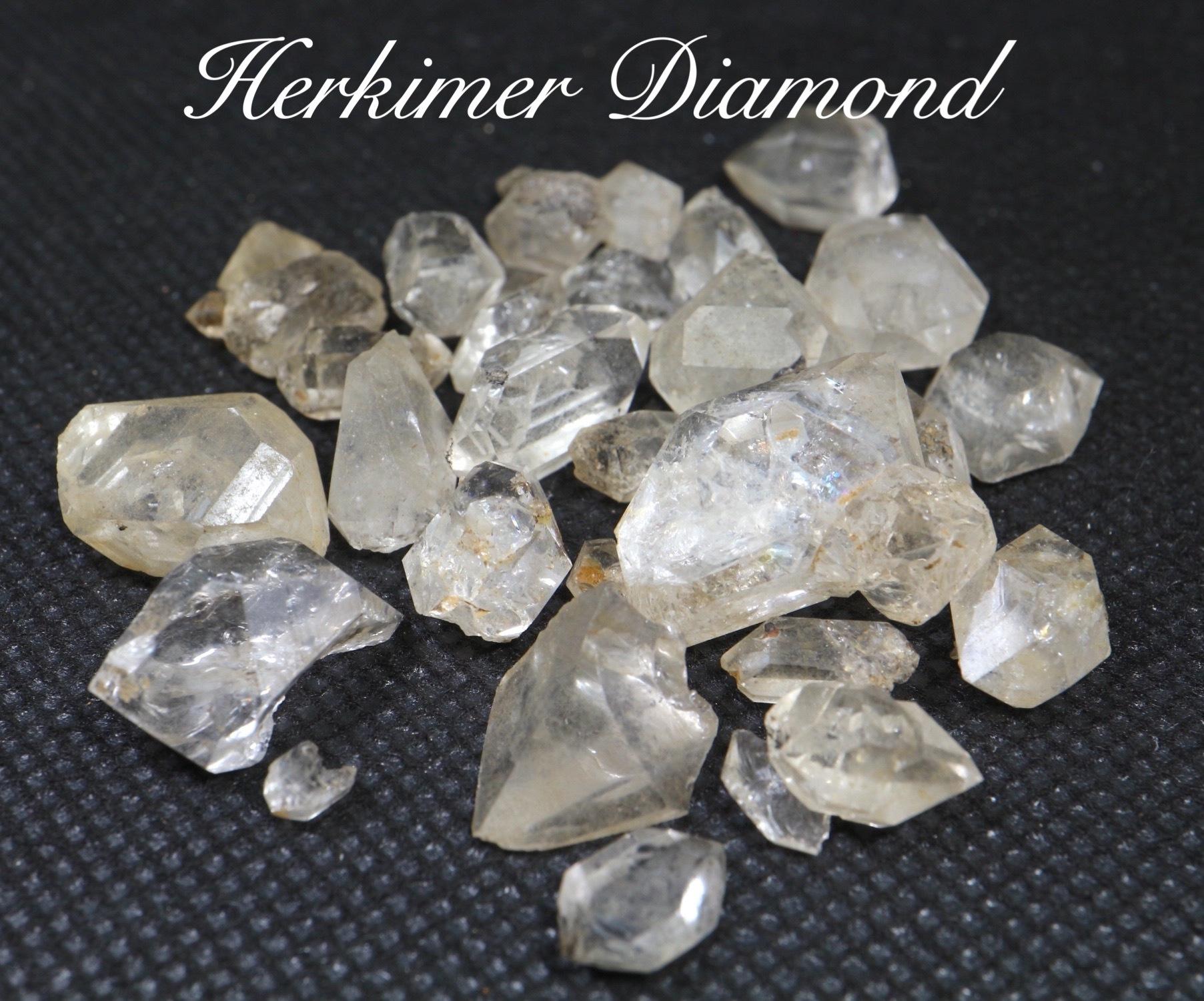 ハーキマーダイヤモンド 水晶 ニューヨーク州産 19,7g HKD002 原石 天然石 鉱物 パワーストーン
