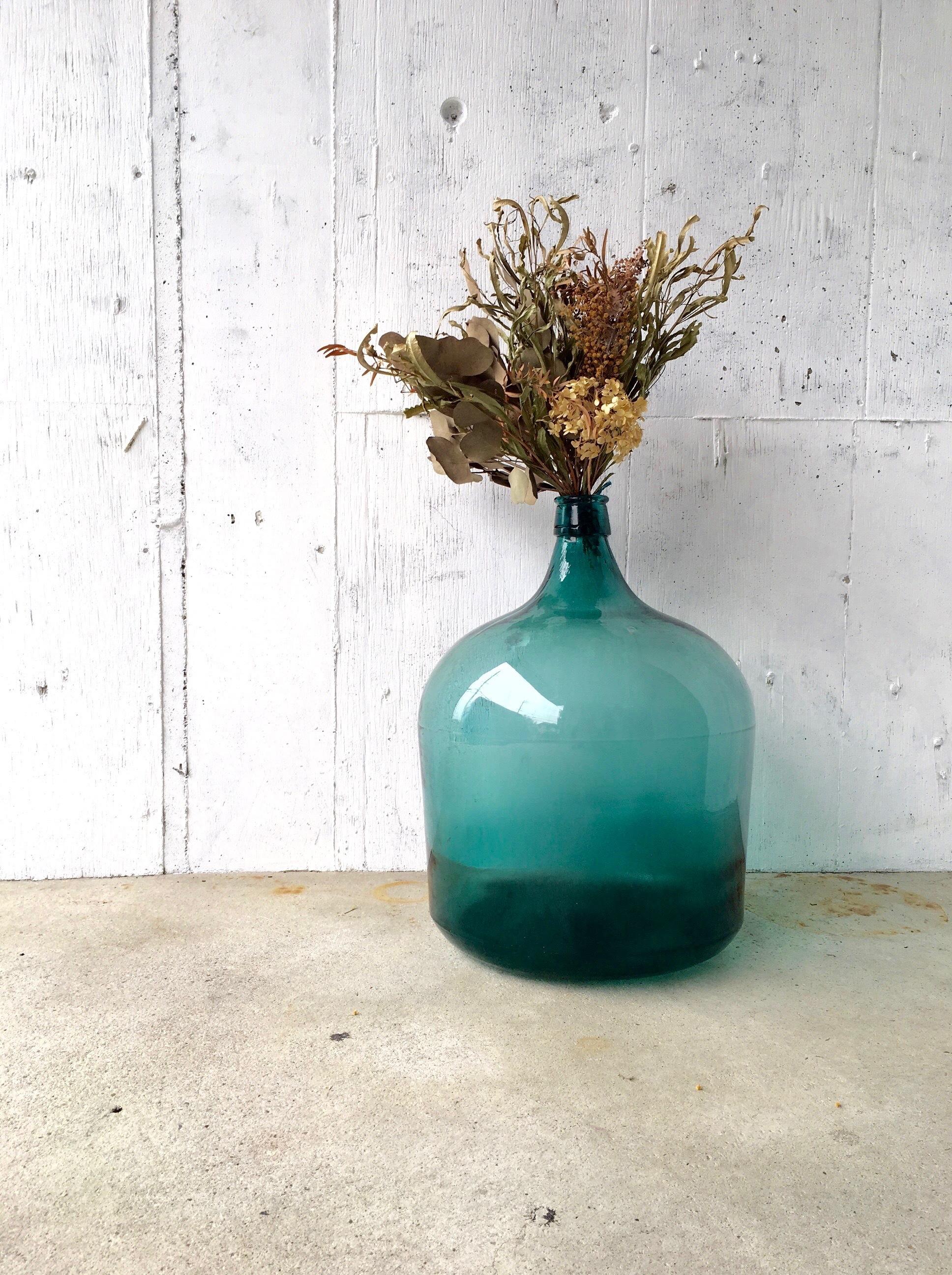 大きなガラス瓶[古道具]
