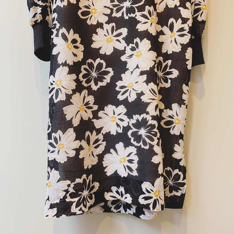 【SALE】vintage flower design onepiece