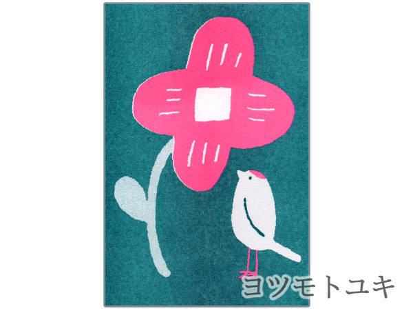 ポストカード - 花とコトリ - ヨツモトユキ - no11-yot-08