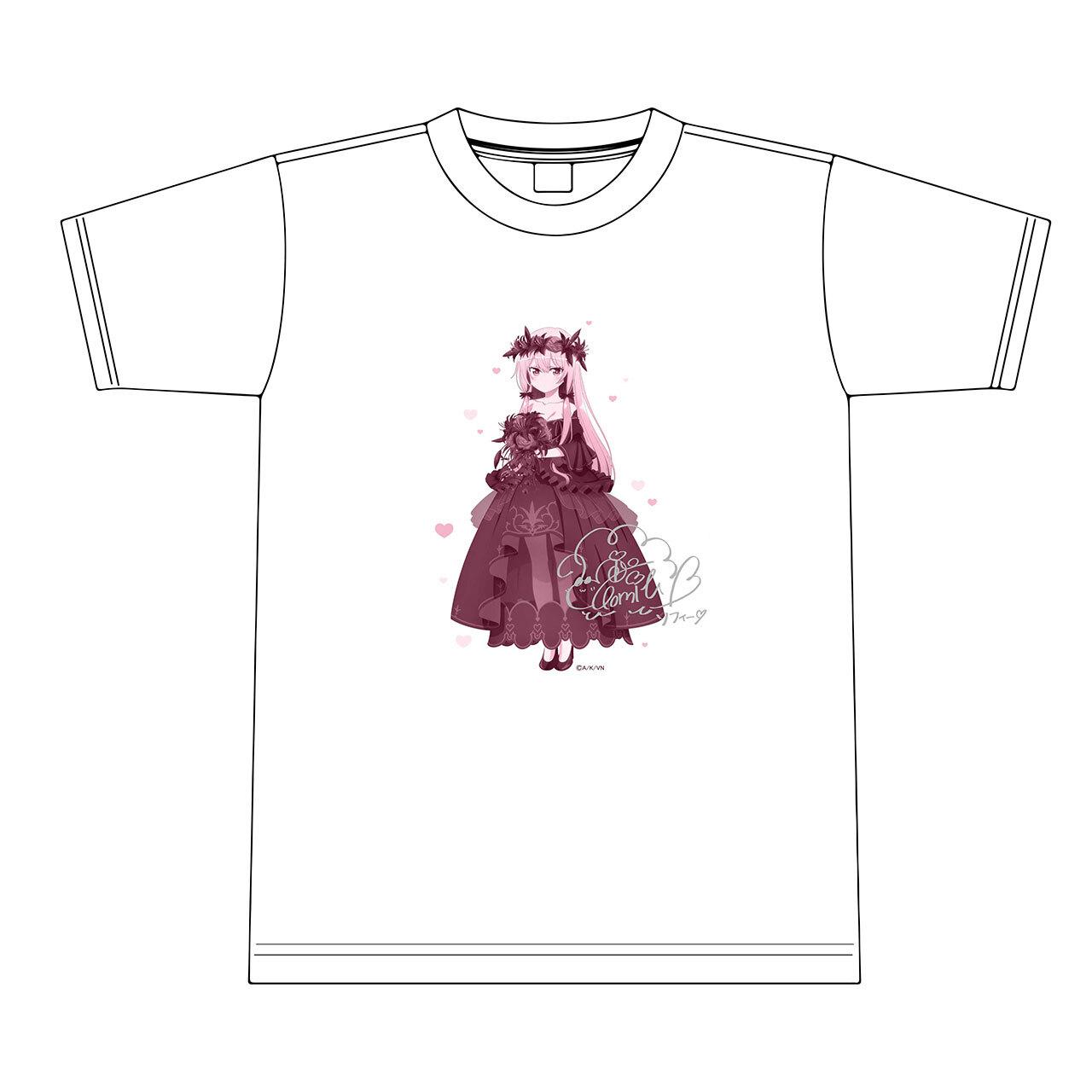 【4589839357043限】となりの吸血鬼さん【描き下ろし】ソフィー Tシャツ(銀箔サイン入り) L