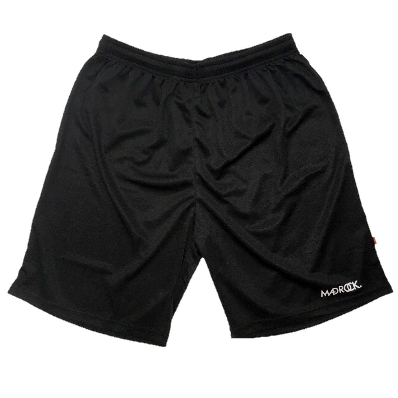 マッドロック / ベーシックバスケットボールパンツ / ドライタイプ / ブラック
